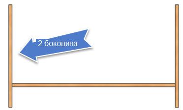 крепление второй боковины