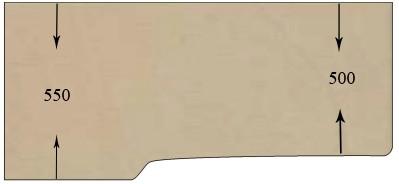 разметка крышки стола