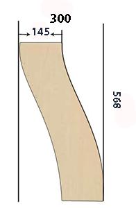 разметка ножки стола