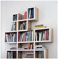 полка для книг на стену