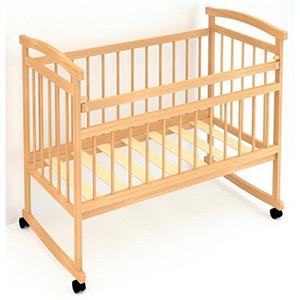 классическая модель детской кроватки