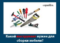 Инструмент для изготовления корпусной мебели. Инструмент для сборки мебели
