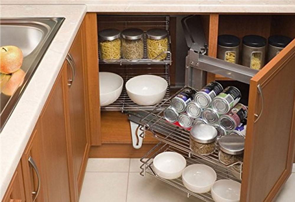 Организация пространства под кухонной мойкой 7
