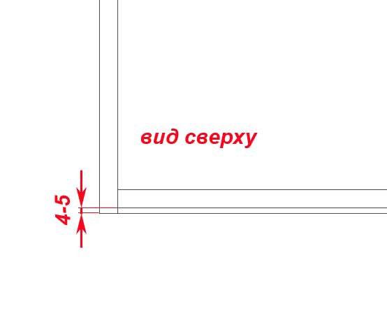 Конструкция прямой тумбы под мойку4
