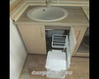 Как установить выдвижное мусорное ведро под мойкой на кухне