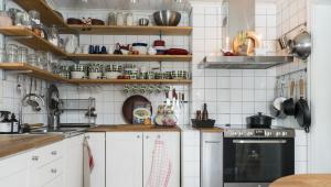 Идеи и советы по обустройству маленькой кухни