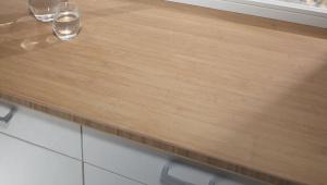 Как снять старую кухонную столешницу и установить новую