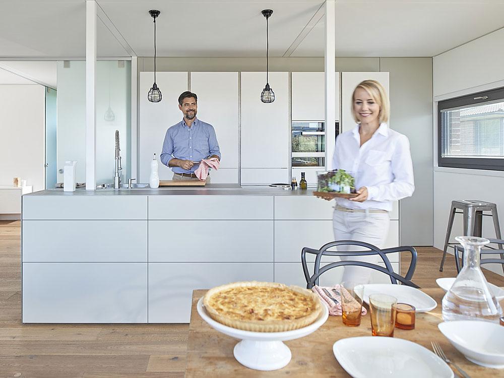 Планировка удобной кухни