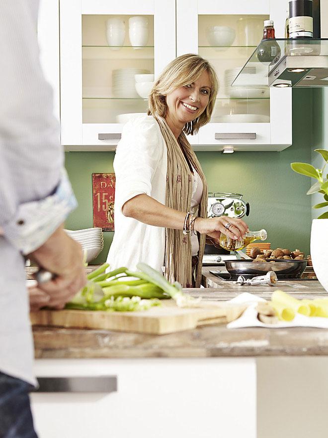 Правильное расположение кухонных зон