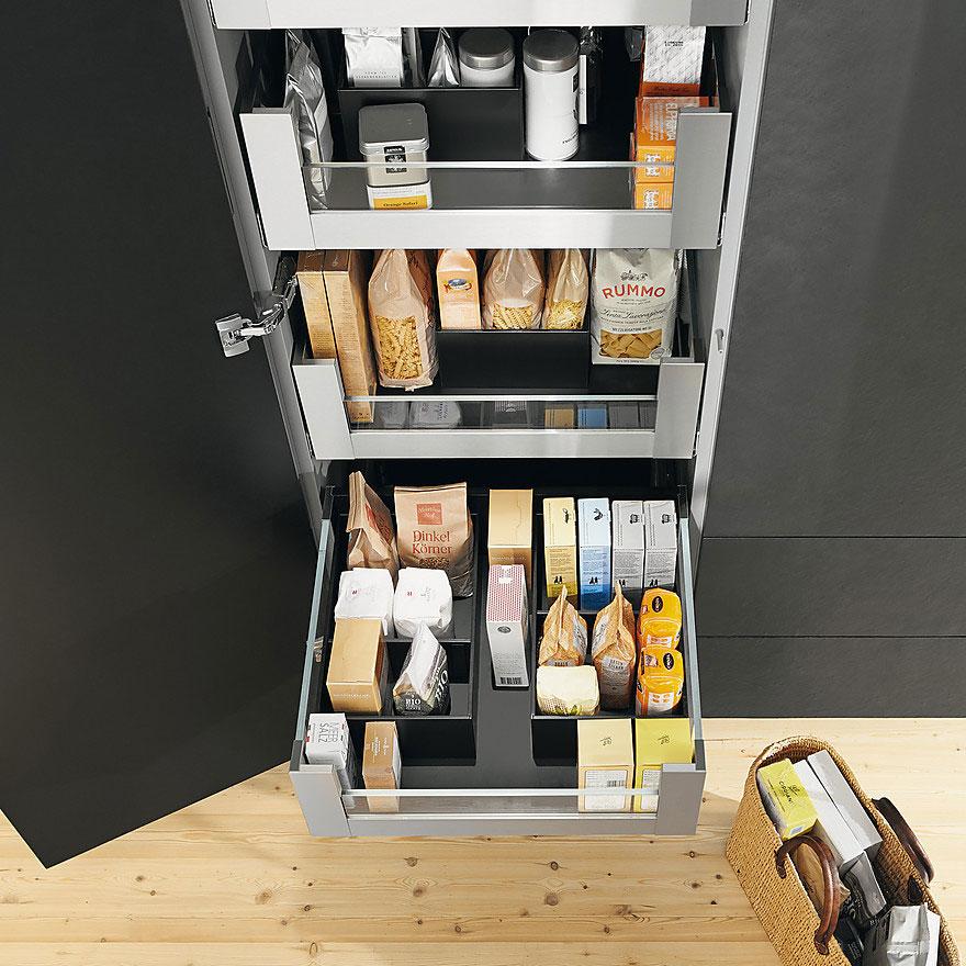 Зона хранения запасов и продуктов