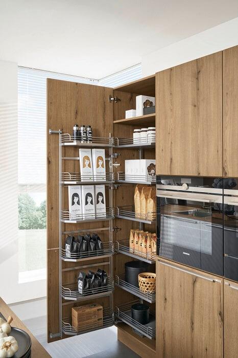 Системы дверных корзин для кухни
