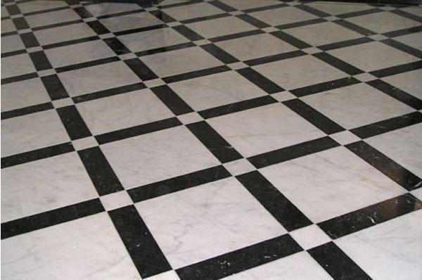 Кухонный пол из природного камня