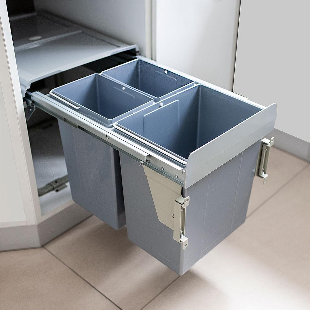 Выдвижные системы сортировки мусора
