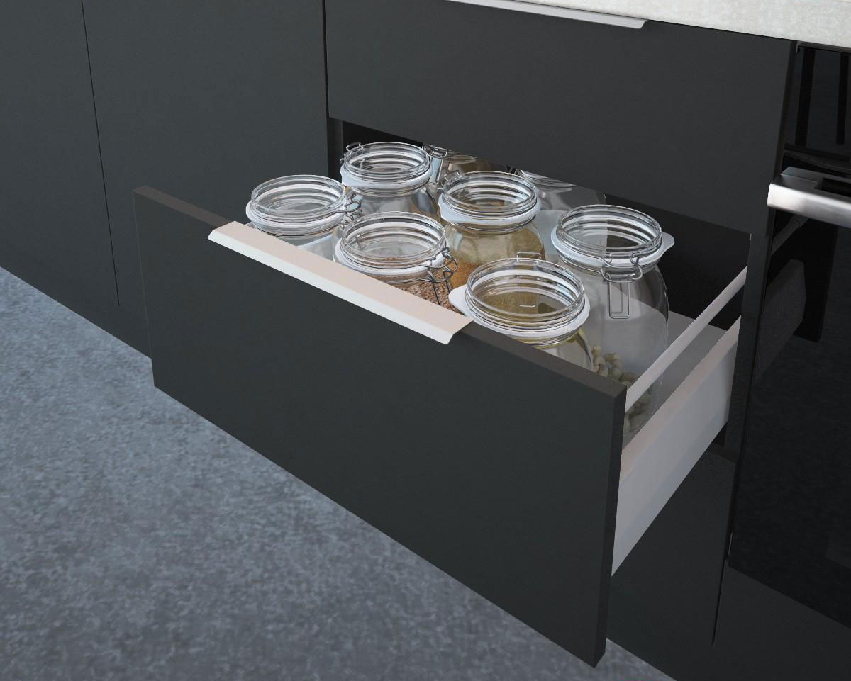 Глубокие выдвижные ящики для банок