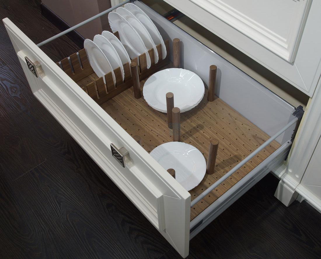 Вертикальные разделители для кухонных ящиков