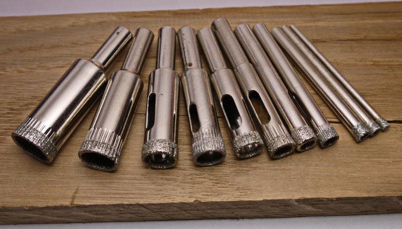 Трубчатые сверла с алмазным напылением