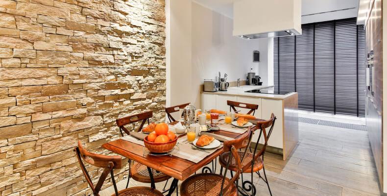 Цвета стен для кухни и столовой