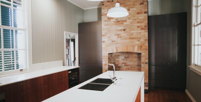 Индустриальный стиль в интерьере кухни