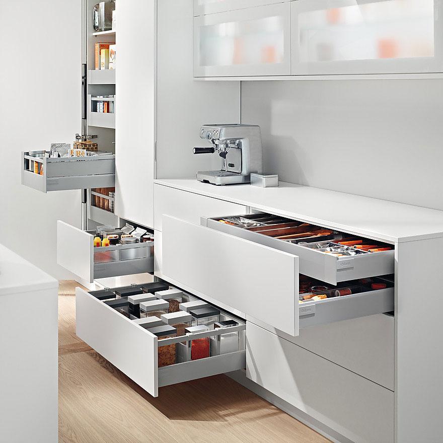 Эргономичная планировка кухонных шкафов