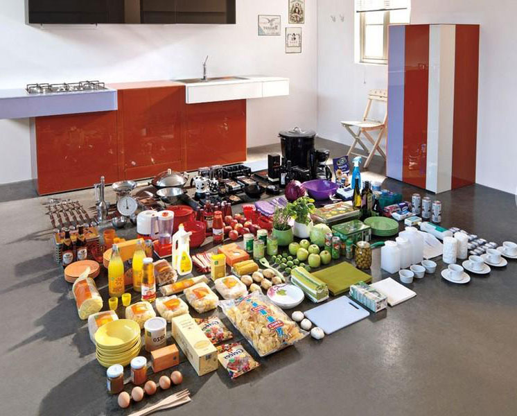 Вместительные кухонные выдвижные шкафы