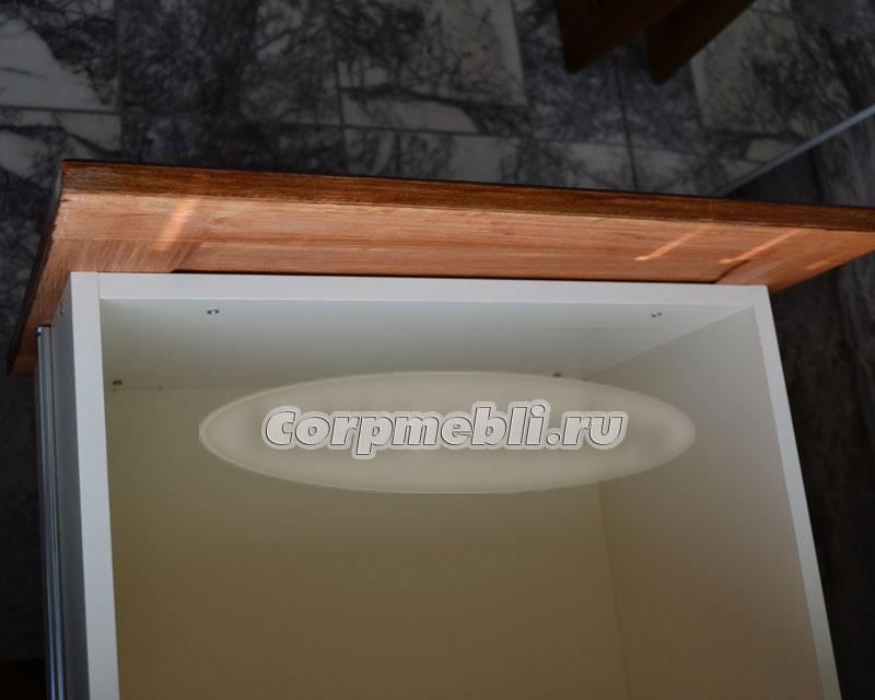 Установка фасадов на выдвижные ящики